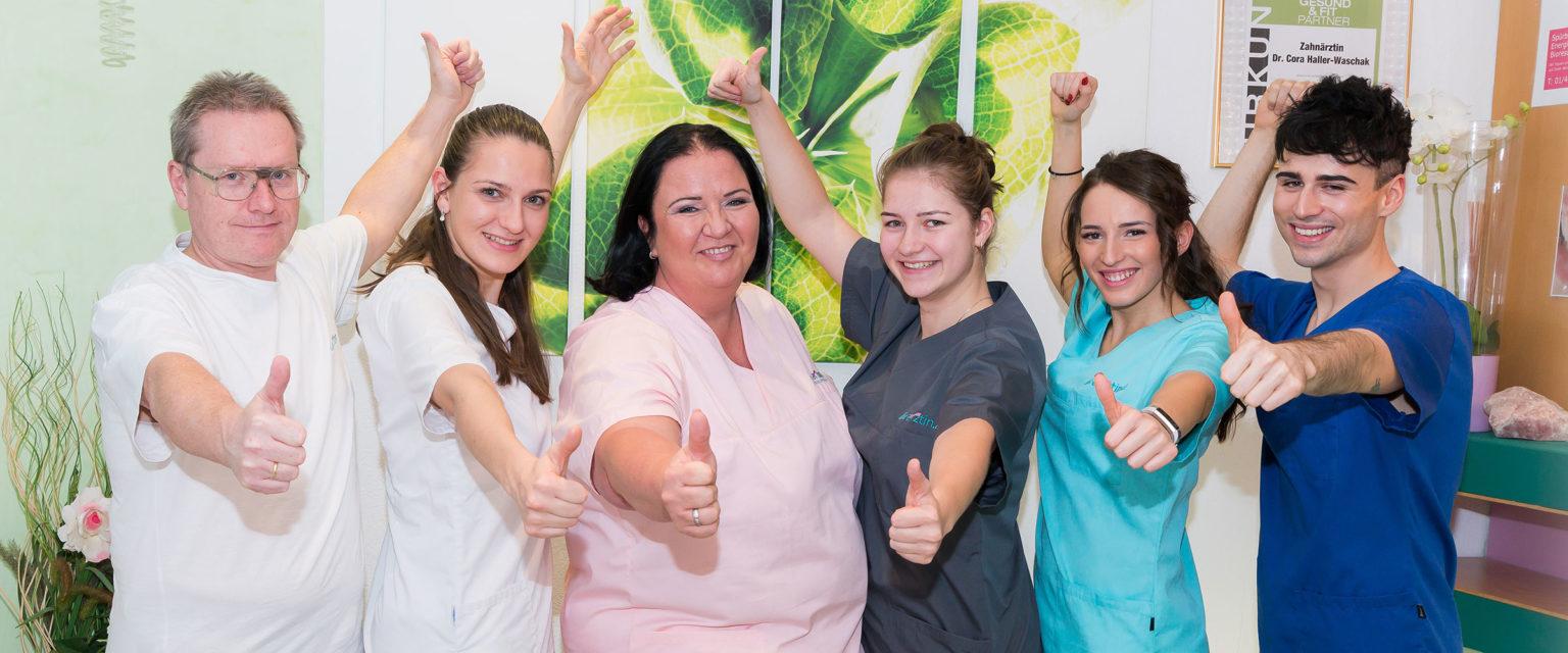Team Dr. Cora Haller-Waschak